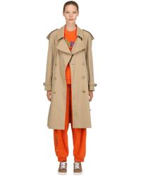 Burberry - Rainbow Cotton Trench Coat - Lyst