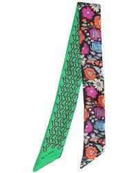 Etro - Paisleyna Printed Silk Twill Scarf - Lyst