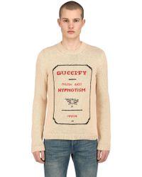 Gucci - Fy Invitation Intarsia Sweater - Lyst