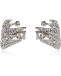 Colette - Galaxia Shooting Star Cuff Earrings - Lyst