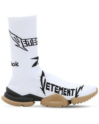 Vetements - Reebok Metal Jacquard Socks Sneakers - Lyst