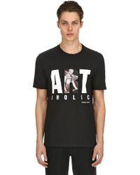 Neil Barrett - T-shirt Aus Jersey Mit Artoholic-druck - Lyst