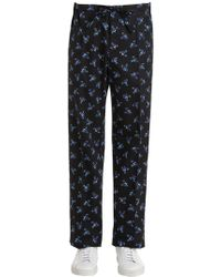 KENZO - Memento Cotton Poplin Pyjama Trousers - Lyst