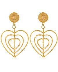 Sylvia Toledano - Valentine Clip-on Earrings - Lyst