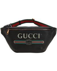 Gucci - Large Vintage Logo Leather Belt Bag - Lyst