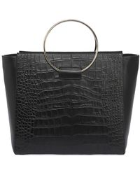 Little Liffner | Embossed Leather Tote Bag W/ Ring | Lyst