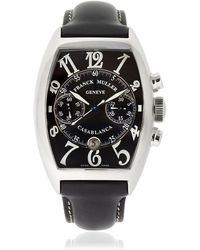 Franck Muller - Curvex Chrono Casablanca Automatic Watch - Lyst