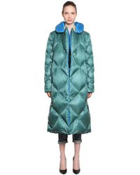 Tommy Hilfiger - Reversible Quilted Nylon Down Coat - Lyst