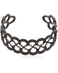 Colette - Entwined Corset Cuff Bracelet - Lyst