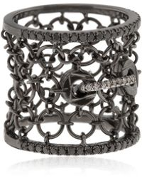 Colette - Entwined Mesh Corset Ring For Lvr - Lyst