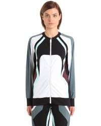 NO KA 'OI - Nola Zip-up Microfiber Track Jacket - Lyst