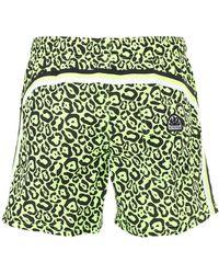 Sundek - Leopard Print Nylon Swim Shorts - Lyst