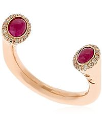 Marco Dal Maso - Koiwi Rose Gold Ring - Lyst
