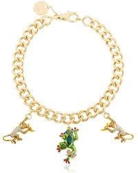 Casadei - Amazon Jungle Chain Necklace W/ Charms - Lyst