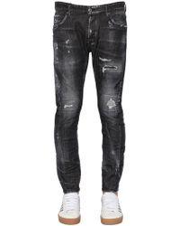 DSquared² - Jeans Icon Tidy Biker In Denim 17cm - Lyst