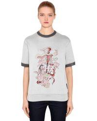 Prada - Liberty Rabbit Printed Sweatshirt - Lyst