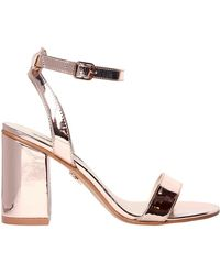 Windsor Smith - 90mm Barlo Metallic Faux Leather Sandals - Lyst