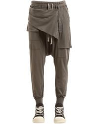 Rick Owens - Drkshdw Light Cotton Jersey Sweatpants - Lyst