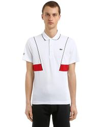 Lacoste - Djokovic Ultra Dry Piqué Tennis Polo - Lyst