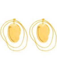 MISHO - Pebble Hoop Earrings - Lyst