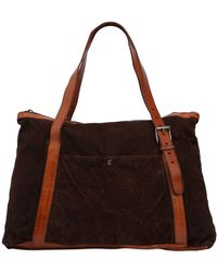 Numero 10 - Textured Leather Bag W/ Vintage Effect - Lyst