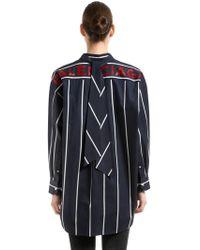 Balenciaga - New Swing Oversized Cotton Poplin Shirt - Lyst