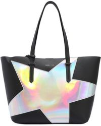 Kendall + Kylie - Izzy Star Textured Faux Leather Tote Bag - Lyst