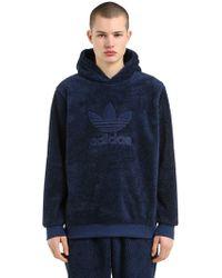 """adidas Originals - """"Kapuzensweatshirt Aus Plüsch """"""""winterized"""""""""""" - Lyst"""