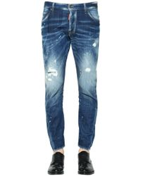 DSquared² - 16cm Jeans Aus Denim Im Sexy Twist Fit - Lyst