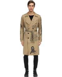 Haculla - There's No Future For You Cotton Trench - Lyst
