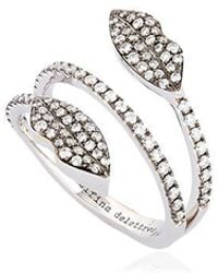 Delfina Delettrez - Marry Me Double Lips Ring - Lyst