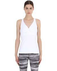 Prana - Microfiber Tank Top With Perforated Back - Lyst