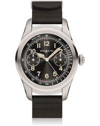 Montblanc - Summit Steel & Rubber Smartwatch - Lyst