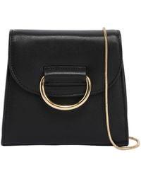 Little Liffner - Tiny Box Leather Shoulder Bag - Lyst
