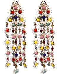 Elie Saab - Daisy Multicolored Earrings - Lyst