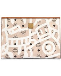 MCM - Medium Eddie King Printed Pouch - Lyst