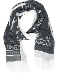 Destin Surl - Bandana Printed Cotton & Cashmere Scarf - Lyst
