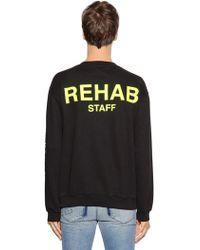 RTA - Hampton Co-lab Print Sweatshirt - Lyst