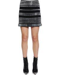 David Koma - Embellished Cady Skirt - Lyst