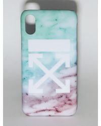 "Off-White c/o Virgil Abloh Cover Iphone X/Xs ""Lvr Exclusive"" In Pvc - Multicolore"