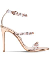 Sophia Webster - 110mm Rosalind Gem Pvc & Leather Sandals - Lyst