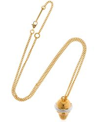 Ambush - Sss Skull Charm Necklace - Lyst