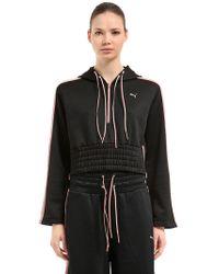 Puma Select - En Pointe Savannah Cropped Sweatshirt - Lyst
