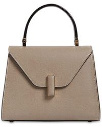 Valextra - Mini Iside Grained Leather Bag - Lyst