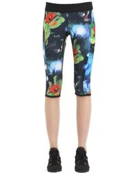 Reebok - Crossfit Cropped Microfiber Leggings - Lyst