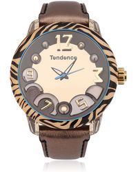 Tendence - Animal 3h Tiger Watch - Lyst