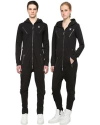 OnePiece - French Terry Cotton Air Jumpsuit - Lyst