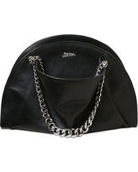 Jean Paul Gaultier - Brushed Leather Shoulder Bag - Lyst
