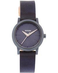 Nixon - Kenzi Leather Watch - Lyst