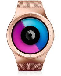 ZIIIRO - Celeste Rose Gold Watch - Lyst
